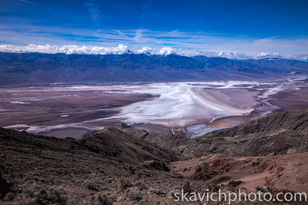 photography Dante's View Death Valley national park, photograph Dante's View Death Valley