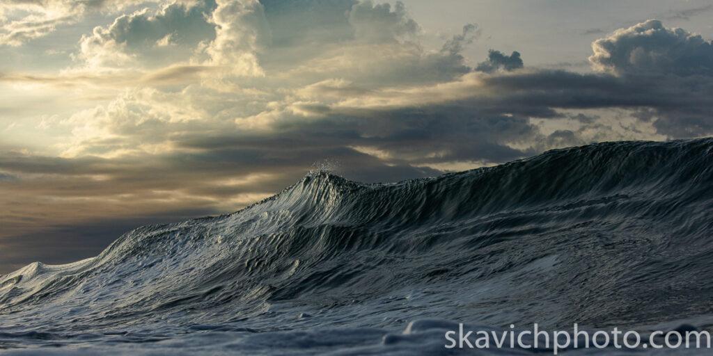 international award winning wave art photography print