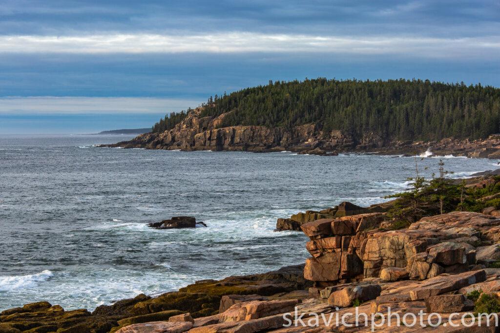 seascape photography Acadia national park Maine
